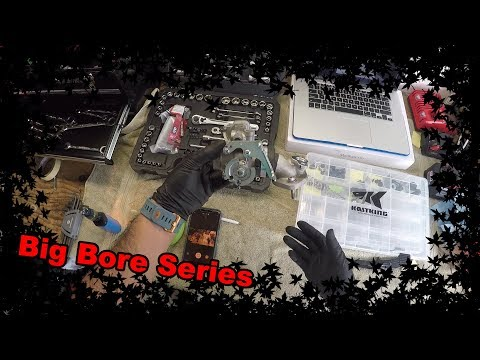 Big Bore Kit Series #4 - How to Disconnect the Leads & Hoses Pt. 2 + Throttle Body Yamaha Zuma 125