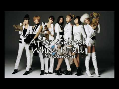 After School - When I Fall [Audio]