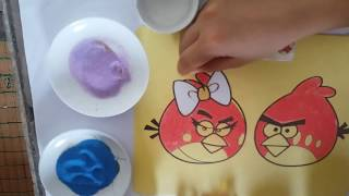[FOR KIDS] COLOURING ANGRY BIRDS