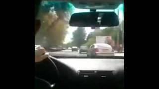 Погоня за BMW 730(05 рег.) кинули на iPad / pursuit bmw