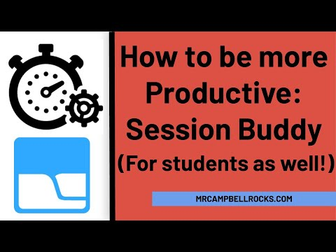 How to be More Productive: Use Session Buddy!