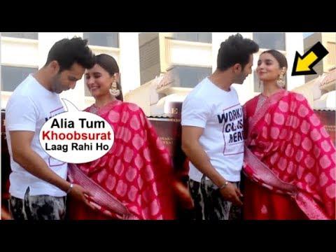 Varun Dhawan Openly FLIRTS With Alia Bhatt In Front Of Media At Kalank Movie Promotions