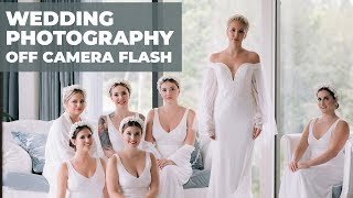 Godox Wedding Photography Behind the Scenes Off Camera Flash (Godox V1 XPro Nikon D850)
