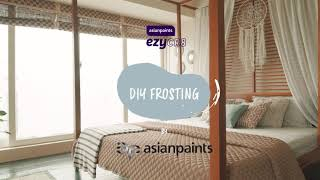 Asian Paints ezyCR8 Frost, DIY Aerosol Spray for Frosted Glass Finish