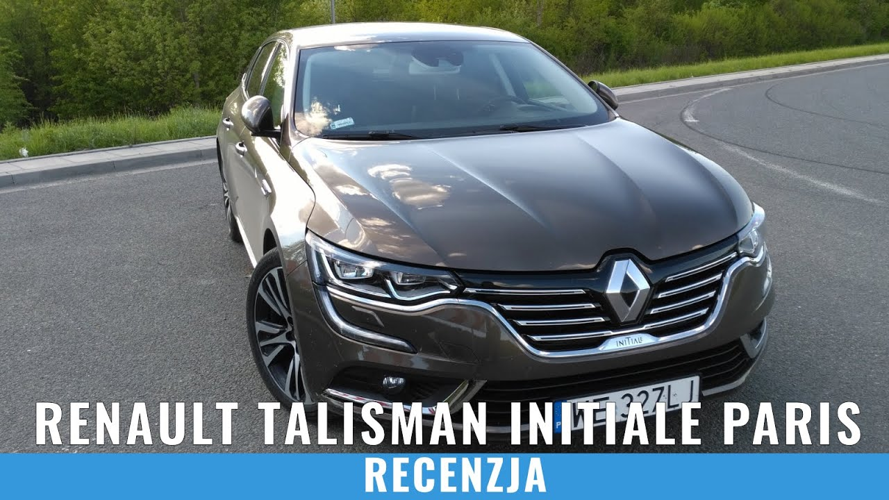 renault talisman initiale paris test jazda pr bna recenzja pl youtube. Black Bedroom Furniture Sets. Home Design Ideas