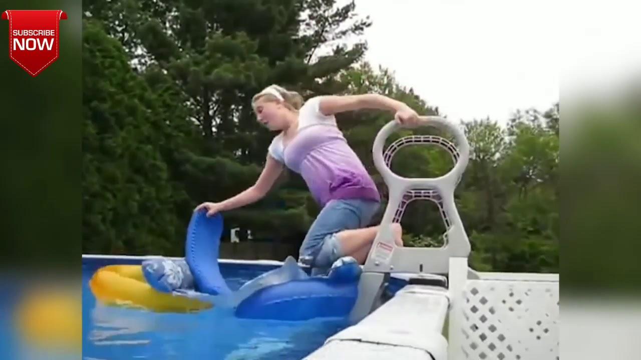 Slip N slide fail - YouTube
