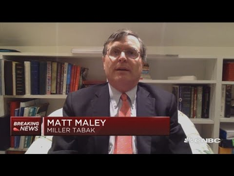 The Market Has Moved Into A De-leveraging Cycle: Miller Tabak Strategist