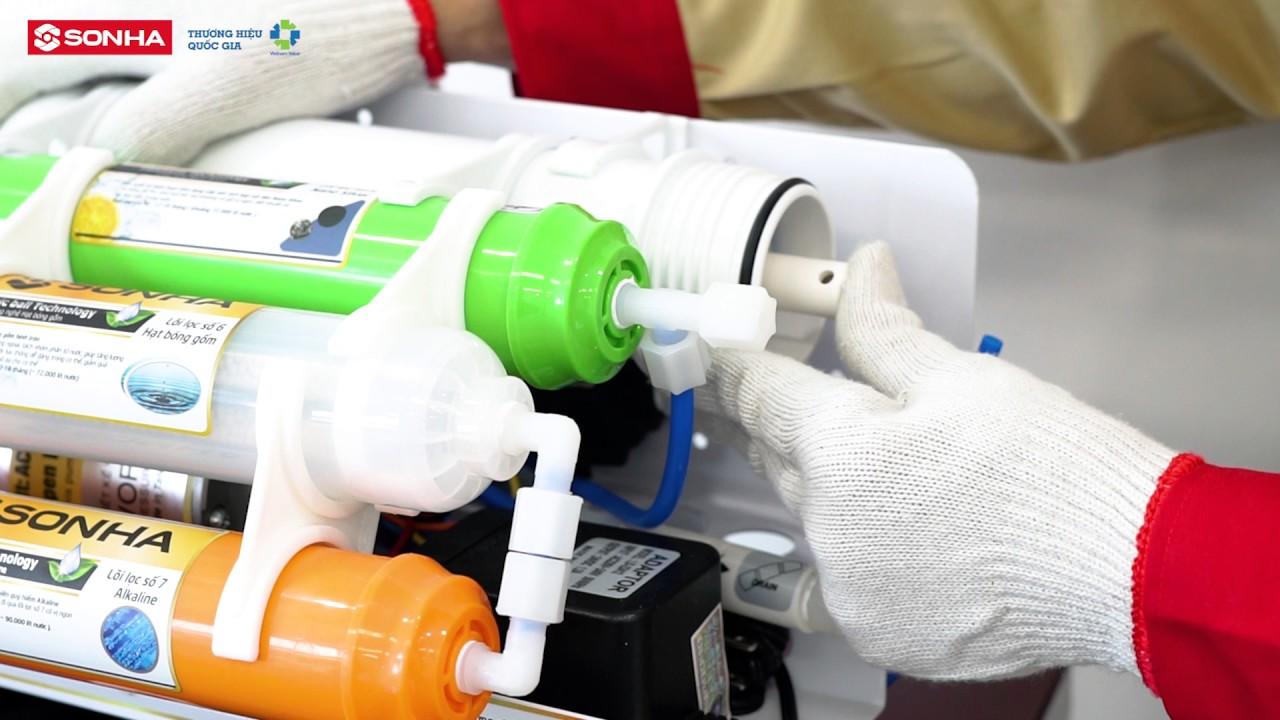 Hướng dẫn lắp đặt Máy lọc nước RO 2017 | Tập đoàn Sơn Hà