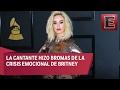 Katy Perry se burla de Britney Spears en los Grammy