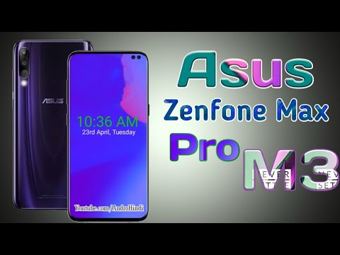 6e41d1039 Asus Zenfone Max Pro M3 - In-display Camera