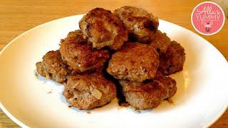 How to make Meatballs (Kotlets) Recipe - Рецепт вкусных мясных котлет