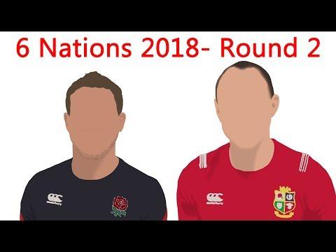 Six Nations 2018 Round 2 Review-  England vs Wales, Scotland vs France, Ireland vs Italy