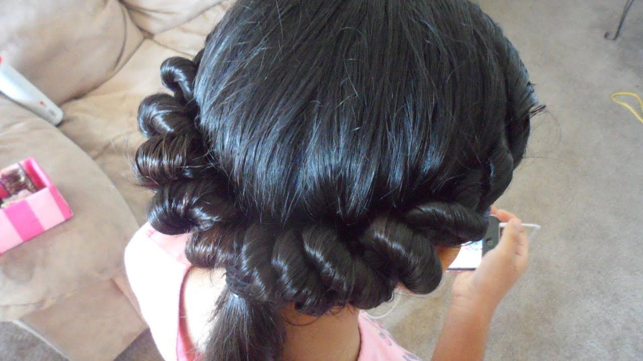 Peinados faciles ponytail de torcidos viyoutube - Ideas para peinados faciles ...