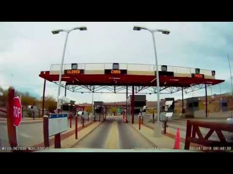 Border Crossing: US To Mexico At Mariposa In Nogales, Arizona
