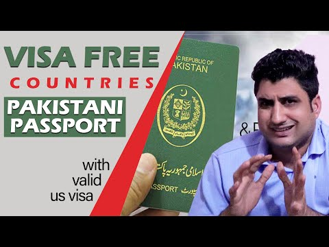 Visa Free Countries On Pakistani Passport With Valid US Visa