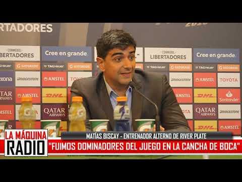 """BISCAY: """"FUIMOS DOMINADORES DEL JUEGO"""""""