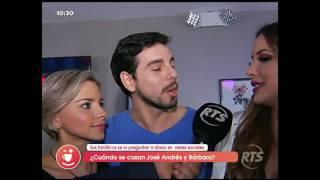 ¿Cuándo se casan José Andrés Caballero y Bárbara Najas?