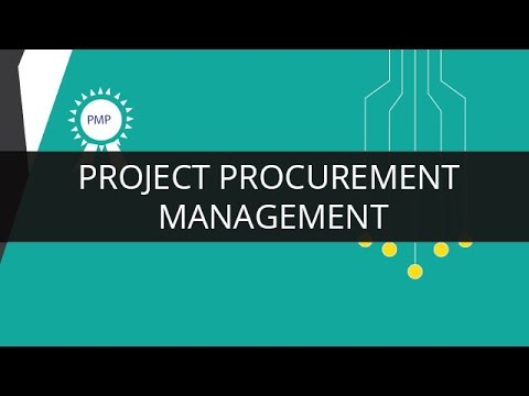 Project Procurement Management Pmp Youtube