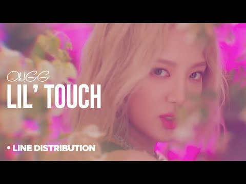 GIRLS GENERATION - Oh!GG「Lil' Touch」Line Distribution  [ 소녀시대 ]