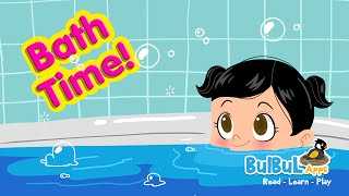 Baby Bath Time | Mother & Child Cute Bathing Animation Story | Bulbul Apps