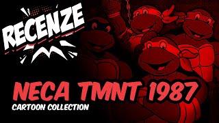 Recenze Neca TMNT - Classic Cartoon 1987 (CZ)