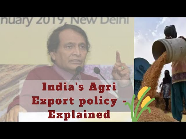 India's First ever Agri Export Policy Explained  #Export #India #PMModi