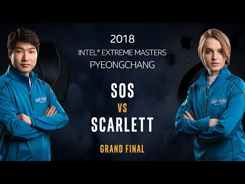 StarCraft II - sOs [P] vs. Scarlett [Z] - Grand Final - IEM PyeongChang [1/2]