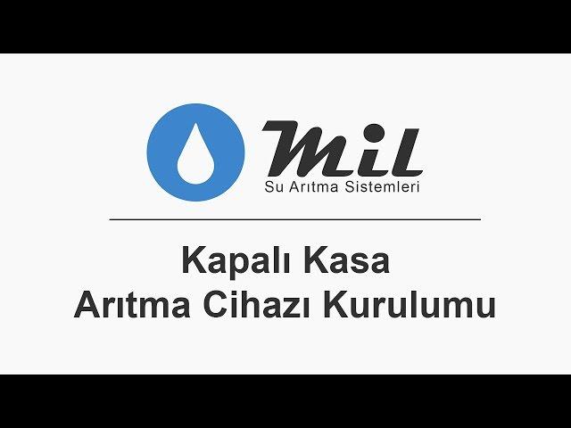 Mil Su Arıtma Cihazı Montajı - Kapalı Kasa (Jaco Sistem)