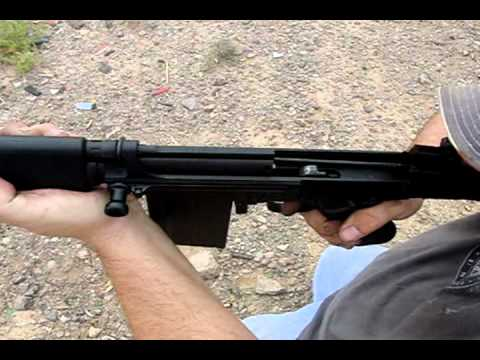 Fn Fal In High Speed Slow Motion Video Youtube