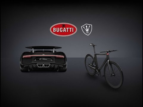 Bugatti X PG, the Luxury Crafted Carbon Fiber Bicycle