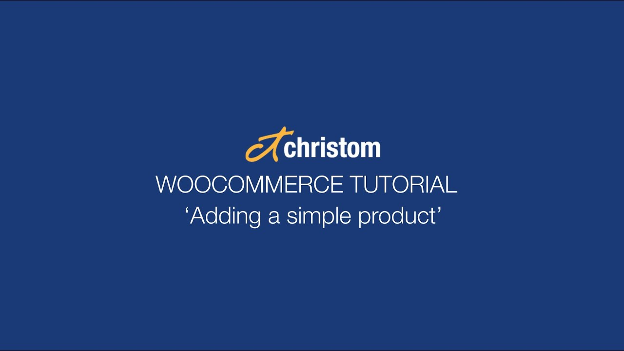 how to add products in woocommerce