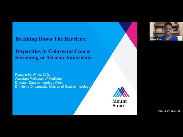 Breaking Down the Barriers: Disparities in Colorectal Cancer Screening in African Americans