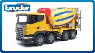 Bruder Toys SCANIA R-Series Cement Mixer #03554