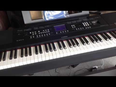 Susan albers plays yamaha dgx 650 funnycat tv for Yamaha 650 piano