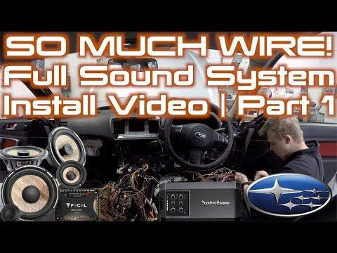 Biggest System I've Ever REMOVED! | Full Sound System Project!