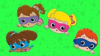Flasche Squad | Ba Ba Boom Wir Sind Bereit, Sie Zu Vergrößern | Baby-Reime | Cartoon Für Kleinkinder | Kindergarten Lieder