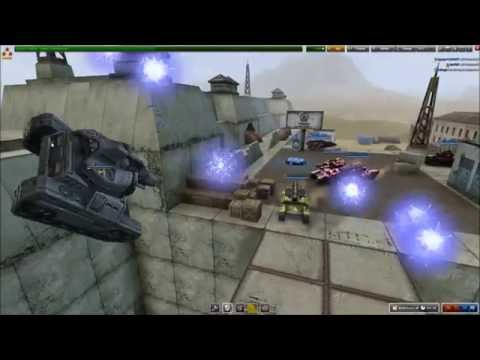 Tanki Online Hacker Fun {Multi-Guns}: Watch as TridentWave Gets thrown all over the place by hackers with multi guns