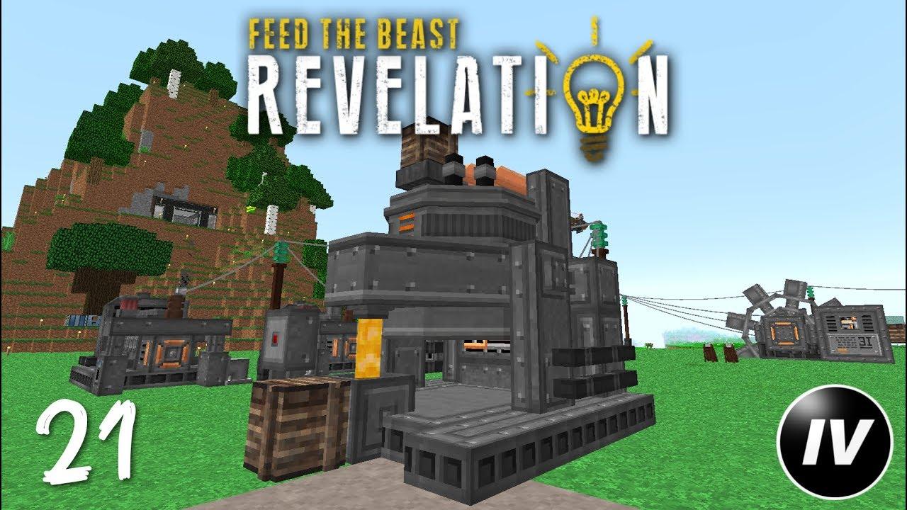 FTB Revelation - Ep 21 - Arc Furnace & Lightning Rod - YouTube