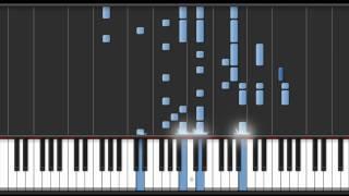 Fourth Avenue Cafe Piano Tutorial - Rurouni Kenshin (Samurai X) - 4th Ending Theme