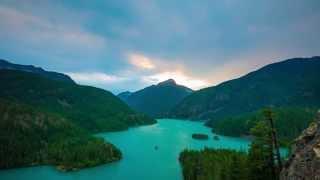 Diablo Lake + Deception Pass | 4k Timelapses Camping in Washington