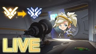 Overwatch The ROAD to Top 500 LIVE