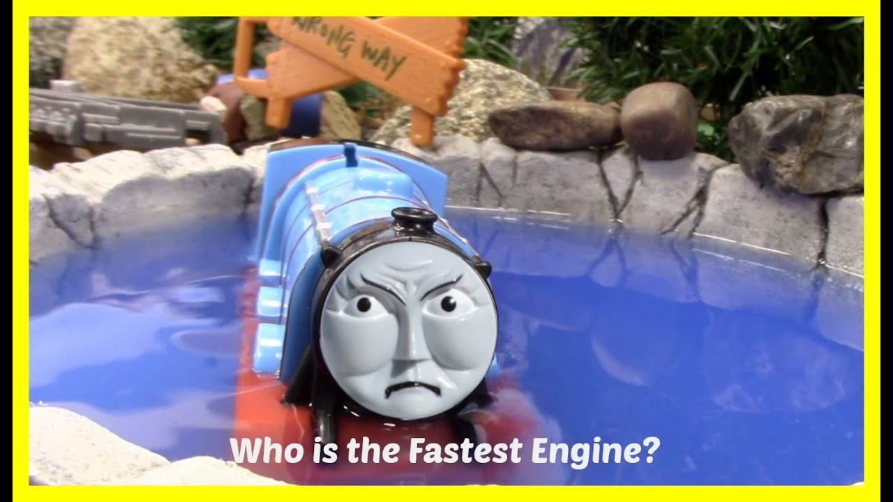 Thomas And Friends Race Accidents Will Happen Toy Train
