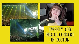 Bandtio Tour Boston - twenty one pilots VLOG