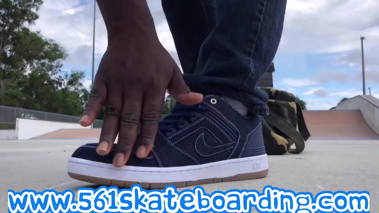 NIKE SB Dunk Low Denim Pack On Foot Review And Quick Skate Session ... 264d4b6749c4