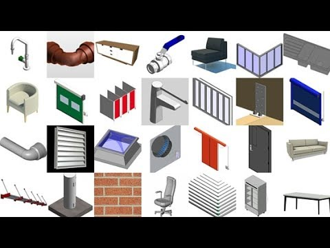 Revit Prob.#2AD Families/library/furniture | Full Solution In Hindi