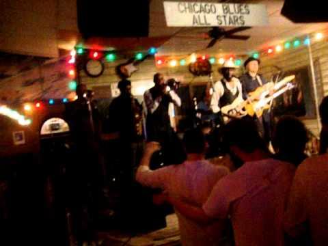 CHICAGO BLUES ALL STARS Live At Kingston Mines, Chicago, Jue 6 De Junio Del  2013