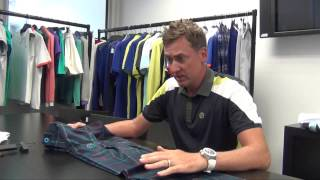 Ian Poulter tells you about our Technical Tartan Trousers