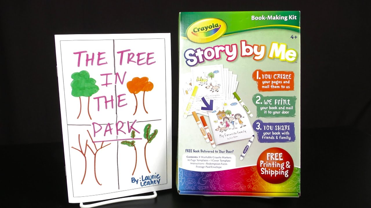 Crayola Story by Me Book-Making Kit from Lulu Jr