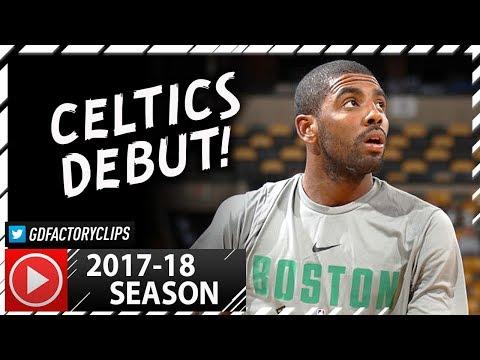 Kyrie Irving Full PS Highlights vs Hornets (2017.10.02) - 9 Pts in 19 Min, Celtics Debut!