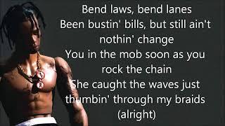 Travis Scott- Butterfly Effect lyrics